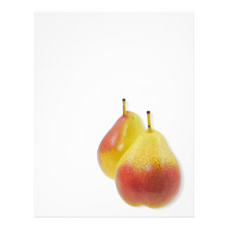 Two ripe pears flyer