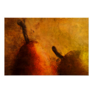 Two Ripe Pears Old World Art Small Print