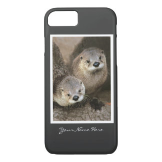 Two River Otters iPhone 7 Case