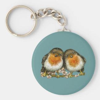 two robins keychain