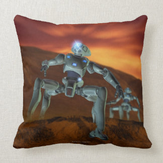 Two Robots Pillow