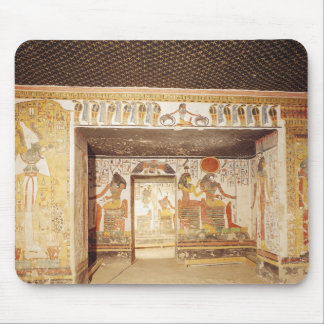 Two rooms from the Tomb of Nefertari Mouse Pad