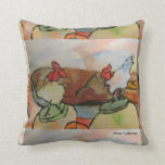 Two Roosters Pillows