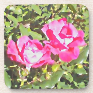 Two Roses Coaster