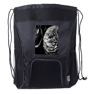 two roses drawstring backpack