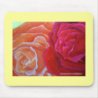 Two Roses Mousepad