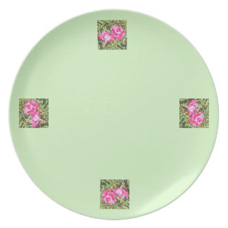 Two Roses Plate
