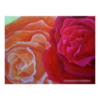 Two Roses Print