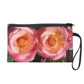 Two Roses Wristlet