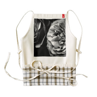 two roses zazzle HEART apron
