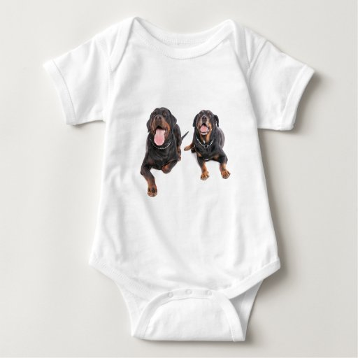 two rottweilers, t-shirt