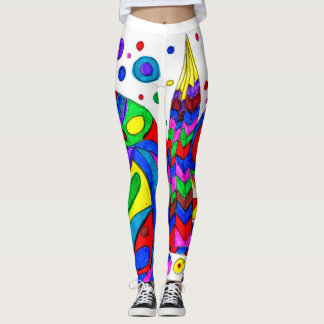 Two Rounds Houses Leggings