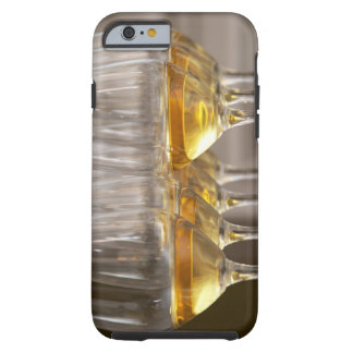 two rows of wine tasting glasses with lucious tough iPhone 6 case