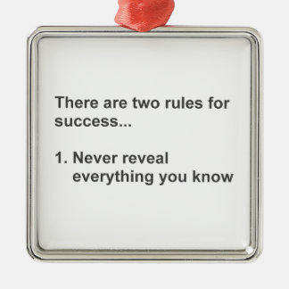 Two Rules For Success Revealed Christmas Tree Ornaments