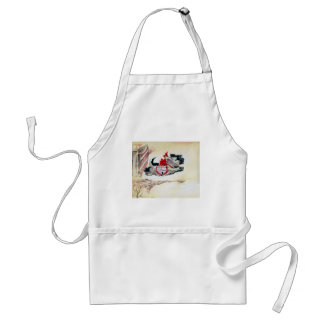 Two Running Scotties Adult Apron