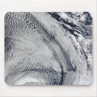 Two S-Shaped Polar Hurricanes Mouse Pad