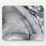 Two S-Shaped Polar Hurricanes Mouse Pads