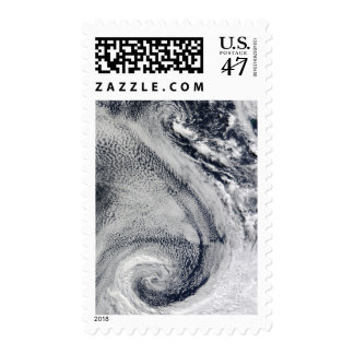Two S-Shaped Polar Hurricanes Postage
