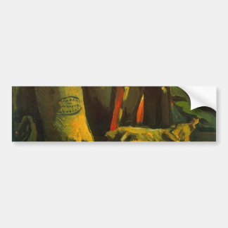 Two Sacks by Vincent van Gogh Car Bumper Sticker