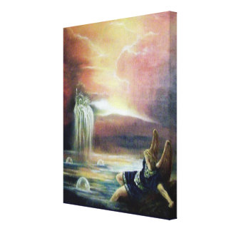 TWO SAINT JOHN AND FALLEN ANGEL CANVAS PRINT