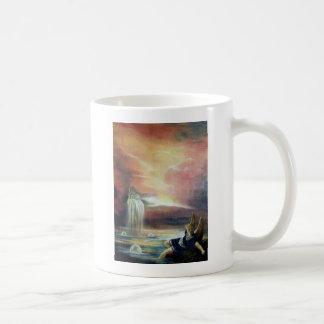 TWO SAINT JOHN AND FALLEN ANGEL COFFEE MUG