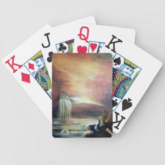 TWO SAINT JOHN AND FALLEN ANGEL CARD DECK