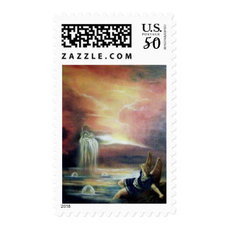 TWO SAINT JOHN AND FALLEN ANGEL POSTAGE