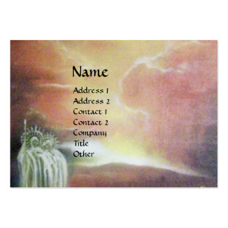 TWO SAINT JOHNS AND FALLEN ANGEL LARGE BUSINESS CARD