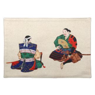 Two Samurai 1878 Placemat