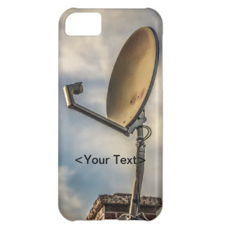 Two Satellite Dishes in the Sky Case For iPhone 5C