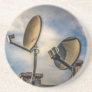 Two Satellite Dishes in the Sky Coasters
