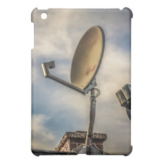Two Satellite Dishes in the Sky iPad Mini Cover