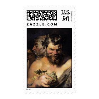 Two Satyrs Postage