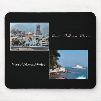 Two scenes from Puerto Vallaerta mousepad