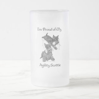 Two Scottish Terriers Agility Mug