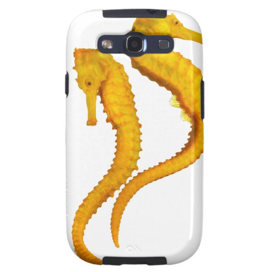 Two Sea Horses shoot on a white background in a Samsung Galaxy SIII Case