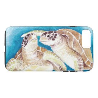Two Sea Turtles iPhone 8 Plus/7 Plus Case