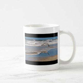 Two Seagulls Flying Coffee Mug