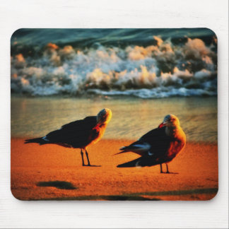 Two Seagulls Mouse Pad
