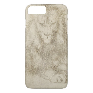 Two Seated Lions by Albrecht Durer iPhone 8 Plus/7 Plus Case