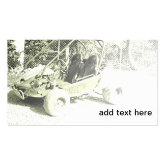 two seater dune buggy business card