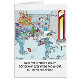 Two-Second Rule in the OR Cards