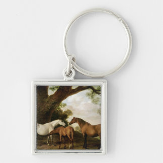 Two Shafto Mares and a Foal, 1774 Key Chains