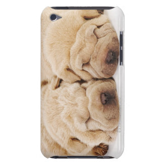 Two Shar Pei puppies sleeping Barely There iPod Case