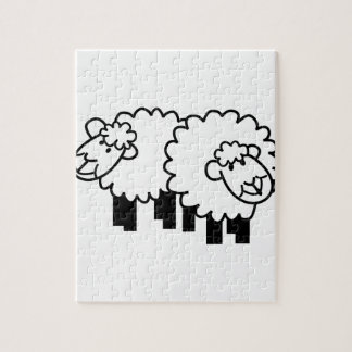 Two Sheep Jigsaw Puzzle