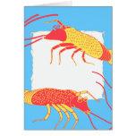Two shrimp 1 card