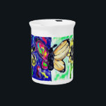 """Two side butterfly beverage pitcher<br><div class=""""desc"""">Two side butterfly</div>"""