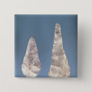 Two-sided blades, Lower Acheulean Period Pinback Button