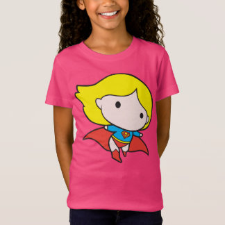 Two-Sided Chibi Supergirl T-Shirt