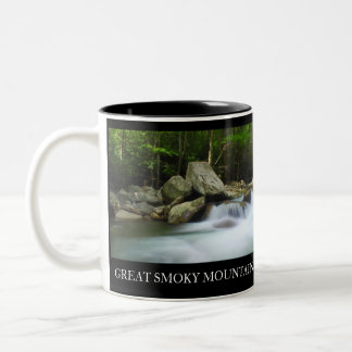 Two-Sided Coffee Cup Great Smoky Mountains Mugs